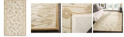 "Martha Stewart Collection Poppy Glossary MSR3627C Brown 2'6"" x 4'3"" Area Rug"