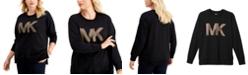Michael Kors Plus Size Logo Sweatshirt
