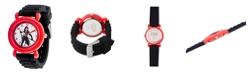 ewatchfactory Marvel Black Widow Girls' Red Plastic Watch 32mm