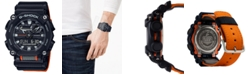G-Shock Men's Analog-Digital Black Resin Strap Watch 49.5mm