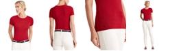 Lauren Ralph Lauren Striped Cotton-Blend T-Shirt