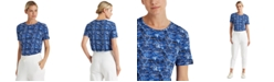 Lauren Ralph Lauren Print Jersey T-Shirt