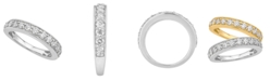 Macy's Certified Diamond Pave Band 1 ct. t.w. in 14k White or Yellow Gold