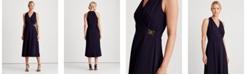 Lauren Ralph Lauren Crepe Sleeveless Dress