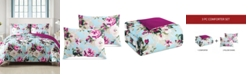 Hallmart Collectibles Ambrosia 3-Pc. Reversible King Comforter Set