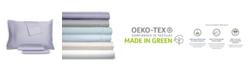 AQ Textiles RestWell Antimicrobial 4 pc Queen Sheet Set, 1000 Thread Count