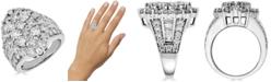 Macy's Diamond Cluster Ring (5 ct. t.w.) in 14k White Gold