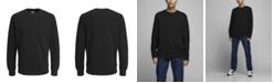 Jack & Jones Men's Solid Long Sleeve Crew Sweatshirt