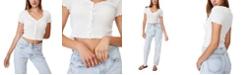 COTTON ON Women's Avery Shorts Sleeve Frill Cardigan