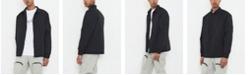 nANA jUDY Men's Harrington Jacket with Utility Sleeve Pocket