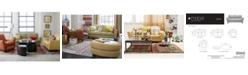 Furniture Almafi Leather Sofa Living Room Furniture Collection