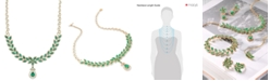 EFFY Collection Brasilica by EFFY Emerald (11-3/4 ct. t.w.) and Diamond (2-3/4 ct. t.w.) Pendant Necklace in 14k Gold, Created for Macy's