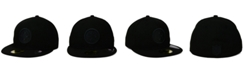 New Era Pittsburgh Steelers Black on Black 59FIFTY Fitted Cap