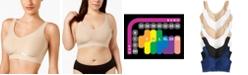 Bali Comfort Revolution ComfortFlex Fit Seamless Shaping Wireless Bra  3488
