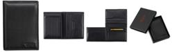 TUMI Men's Nappa Leather L-Fold ID Passcase