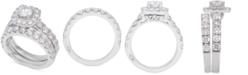 Marchesa Diamond Bridal Set (3 ct. t.w.) in 14k White Gold
