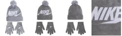 Nike 2-Pc. Swoosh Beanie & Gloves Set, Big Boys