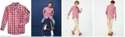 Tommy Hilfiger Little Boys Box-Plaid Cotton Shirt