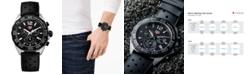 TAG Heuer Men's Formula 1 Chronograph Black Rubber Strap Watch 43mm