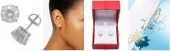 Macy's Diamond Stud Earrings (4 ct. t.w.) in 14k White Gold