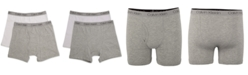 Calvin Klein 2-Pk. Cotton Boxer Briefs, Little & Big Boys