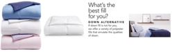 Martha Stewart Collection Reversible Down Alternative King Comforter, Created for Macy's