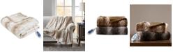 "Beautyrest Beauty rest Zuri Reversible Oversized 50"" x 70"" Electric Faux-Fur Throw Blanket"