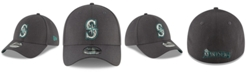 New Era Seattle Mariners Charcoal Classic 39THIRTY Cap
