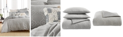 Lucky Brand CLOSEOUT! Reversible 3-Pc. Tile Seed Stitch King Comforter Set, Created for Macy's
