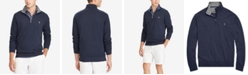 Polo Ralph Lauren Men's Big & Tall Luxury Jersey Quarter-Zip Sweater
