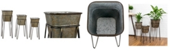 Aspire Home Accents Onslow Farmhouse Planters Set of 3