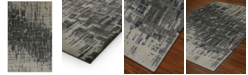 """Macy's Fine Rug Gallery Mosaic Reece Pewter 3'3"""" x 5'1"""" Area Rug"""
