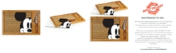 Picnic Time Toscana® by Disney's Mickey Mouse Icon Glass Top Cutting Board & Knife Set