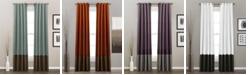 "Lush Decor Prima Colorblock Velvet 84"" x 54"" Curtain Set"