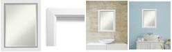 Amanti Art Blanco 22x28 Bathroom Mirror