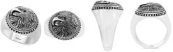 EFFY Collection EFFY® Men's Eagle Ring in Sterling Silver