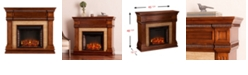 Southern Enterprises Dennison Fireplace, Quick Ship