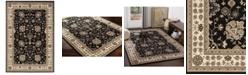 "Surya Paramount PAR-1070 Black 6'7"" x 9'6"" Area Rug"