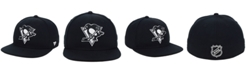 Authentic NHL Headwear NHL Authentic Headwear Pittsburgh Penguins Black DUB Fitted Cap