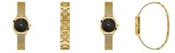 GUESS Women's Gold Mesh Diamond Watch 25MM, Created for Macy's