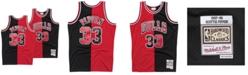 Mitchell & Ness Men's Scottie Pippen Chicago Bulls Split Swingman Jersey