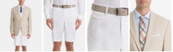 Lauren Ralph Lauren  White/Tan Linen UltraFlex Classic-Fit Short Suit Separates