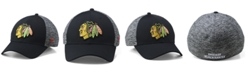 Authentic NHL Headwear Chicago Blackhawks Heathered Team Flex Stretch Fitted Cap