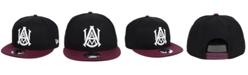 New Era Alabama A&M Bulldogs Black Team Color 9FIFTY Snapback Cap