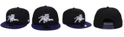 New Era Jackson State Tigers Black Team Color 9FIFTY Snapback Cap