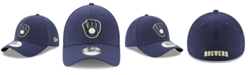 New Era Milwaukee Brewers Team Classic 39THIRTY Stretch Fitted Cap