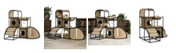 Prevue Pet Products Catville Townhome Leopard Print 7235