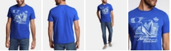 Nautica Men's Blue Sail Sailing Team Logo Graphic T-Shirt, Created for Macy's