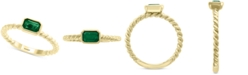 EFFY Collection EFFY® Emerald (1/2 ct. t.w) Ring in 14k Gold