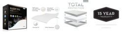 Malouf Sleep Tite Encase Omniphase or Tencel Mattress Protector - Split Queen